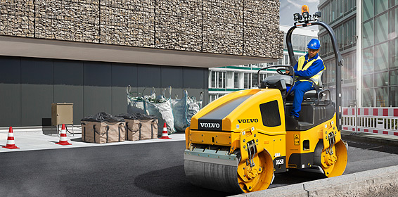 Star picture of the DD25B Asphalt compactor for any cropping formats