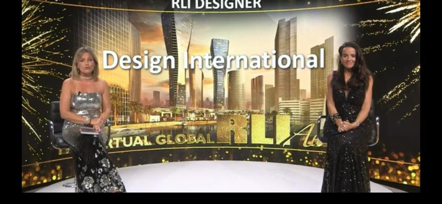 "Rli award 2020: Design International è il ""designer dell'anno"""